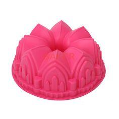 Grande corona della torta del silicone della muffa strumenti di cottura della…