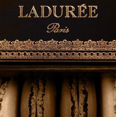 Laduree Paris - chocolate macaron is so tasty, absolutely delicious!
