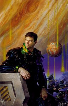 """""""MARS AT JUPITER"""" Cover for the novel Journey by Mike Resnick © 1996 Donato Giancola"""
