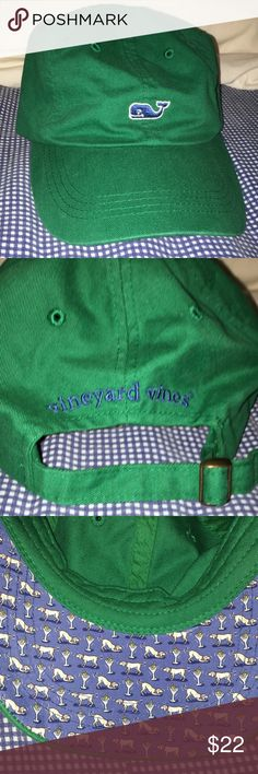 Vineyard Vines Baseball Hat This Vineyard Vines hat is in very good condition. Worn like twice. I never wear hats anymore, so that's why I don't want it anymore. Vineyard Vines Accessories Hats