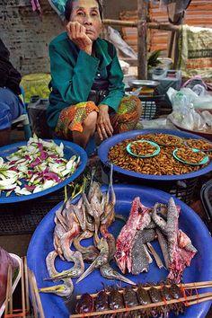Street market . Udon Thani Thailand