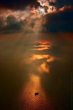 Sunset over Black Sea by  Igor Luzhanov