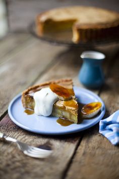 Banana Foster Brown Butter Tart