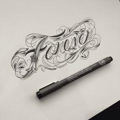 Hand Type Vol. 10 by Raul Alejandro, via Behance