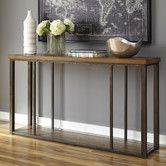 """Found it at Wayfair - Branslien Console Table   Overall: 32"""" H x 60"""" W x 14"""" D   $285"""