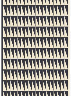 The graphical Ararat fabric designed by Maija and Kristiina Isola consists of triangles that fit together. Create beautiful curtains or a tablecloth. Cotton Linen, White Cotton, Linen Fabric, White Kitchen Blinds, Textures Patterns, Print Patterns, Marimekko Fabric, Nordic Interior Design, Rugs
