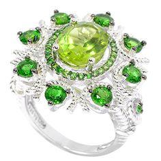 V3 Jewelry Sterling Silver 4.45cttw Peridot and Chrome Diopside Halo Flower Ring V3 Jewelry http://www.amazon.com/dp/B0177K5BUY/ref=cm_sw_r_pi_dp_bTHrwb0DBA9Z3