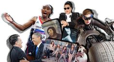 Top 10 Everything of 2012 from Time Magazine - Food, Celebrities, Movies, Books, Songs, TV, News and more...