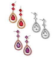 FOREVER selected by Paula Abdul Look of Fine Teardrop Earrings