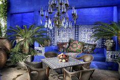 luxuriöses arabisches Interieur-Esszimmer