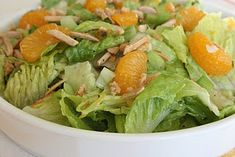 Mandarin Orange Salad w/ Almonds (or Pistachios)