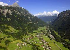 Luftaufnahme Innerbraz - Klostertal – Wikipedia