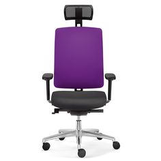 Dat-O Executive office swivel chairs with comfort seat and mesh backrest with upholstered cushion. Dat-O Executive Chairs from Apres Furniture. Executive Office Chairs, Swivel Office Chair, Tilt, Office Furniture, Cushions, Mesh, Throw Pillows, Toss Pillows, Business Furniture