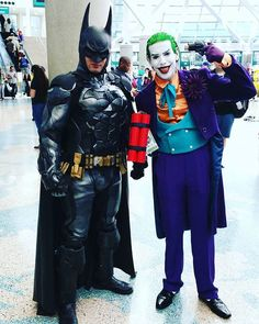 Pin for Later: We Can't Get Enough of the Insane Cosplays From WonderCon 2016 Batman and The Joker