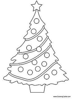 The Best Places to Find Printable Christmas Tree Coloring Pages: Coloring…