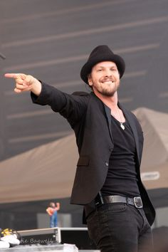 I think I love you, don't even know ya. Seriously though, IN LOVE. Gavin Degraw.