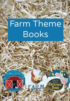 Farm Theme Books-teach kids about life, plants, animals and machines on a farm. Preschool Reading Activities, Preschool Lesson Plans, Preschool At Home, Preschool Themes, Preschool Farm, Enrichment Activities, Preschool Books, Creative Activities, Toddler Activities