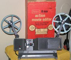 SEARS 1964 8mm Film Editor by charlottesWONDERweb on Etsy, $23.00