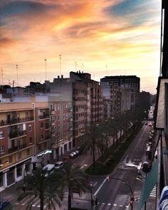 🌞 #sunset #valencia #espana #spain #summer #erasmus #sky #skyfullofsurprises