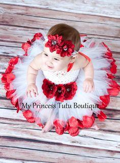 Flower Girl Tutu Dress. $65.00, via Etsy.
