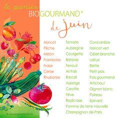 calendrier des fruits et légumes bio de saison juin