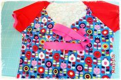 MUDDIs: RUMS #6/14 oder ein kleines Stümper-einfach-DIY:Knopfleiste in Shirt einbauen