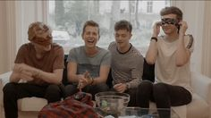Honestly, James' laugh is my most favourite thing ever like ihvhtcggvjhv