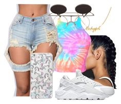 """""""Untitled #25"""" by ronkexx12 on Polyvore featuring Skinnydip and NIKE"""