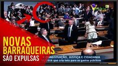 A esquerda BARRAQUEIRA é expulsa novamente de uma sessão