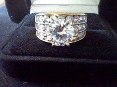 5CTW LCS* DIAMOND ROUND ENGAGEMENT WEDDING RING SZ 5 SZ 6 SZ 7 SZ 8 SZ 9 SZ 10 #EXCEPTIONALBUY #SolitairewithAccents