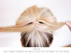 sitting in our tree: DIY - messy bun for long hair Messy Bun For Long Thick Hair, Medium Thin Hair, Long Thin Hair, Really Long Hair, Long Layered Hair, Messy Buns, Wedding Hairstyles For Medium Hair, Long Face Hairstyles, Bun Hairstyles For Long Hair