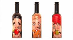 Bliss Fruit Wine (Student Project) on Packaging of the World - Creative Package Design Gallery