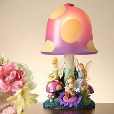 Tinkerbell mushroom light