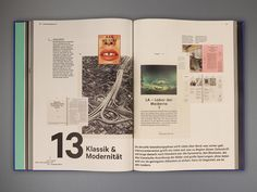 """This is my Masters thesis. The book is an analysis of the graphic design development of a German architecture magazine. This magazine started in 1902 and has been through various epochs. It reflects 114 years of magazine design, providing insight into design history, which informs our contemporary understanding of design. The book has two parts: """"design phases"""" and """"graphics"""". Both examine, in different ways, the conversion in typography, layout, format, paper, and printing techniques…"""