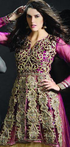 $324.03 Purple Net Chaniya Choli 18934 With Unstitched Blouse