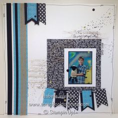 Scrapbook toujours avec Isabelle Lefebvre Scrapbook Sketches, Stampin Up Cards, Scrapbooking, Diy Crafts, Make Your Own, Homemade, Scrapbooks, Craft, Memory Books