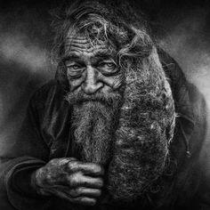 Interview: Powerfully Raw Portraits of Homeless People by Lee Jeffries - My Modern Met