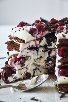 Black forest crepes
