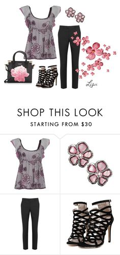 """""""Tickled Pink"""" by coolmommy44 ❤ liked on Polyvore featuring Fornarina, RED Valentino and Calvin Klein"""