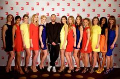 """Die Top 12: Wer wird 2016 """"Germany's next Topmodel""""?"""
