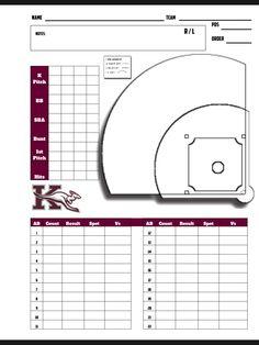 Insane image within baseball hitting charts printable