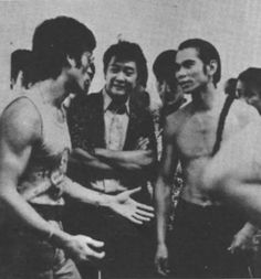 Bruce Lee @ Shaw Brothers Studios
