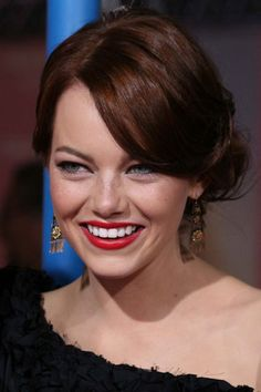Emma Stone -hair color