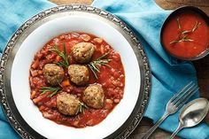 Polpette z mletého masa v rajčatové omáčce
