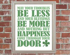 Popular items for irish quote on Etsy