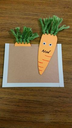 Misadventures of a YA Librarian: Creepy Carrot Craft
