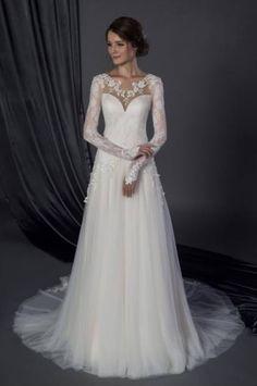 Robe de mariée reine des neiges