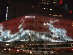 Noblemono,3-layered LED Net-Matrix,installed on the facade of Shinsegae Main Department Store in Seoul,is a 3-layered media facade artwork composed of more than…