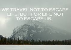 Man I love to travel!