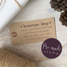 Snowman Soup Poem Christmas Stamp by ClariseStamps on Etsy https://www.etsy.com/uk/listing/386084050/snowman-soup-poem-christmas-stamp